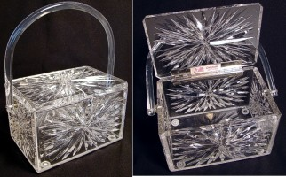 Vintage Lucite &quot;Bag&quot;: $250